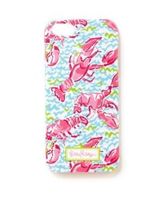 Lilly Pulitzer iPhone 5/5S Cover in Lobstah Roll