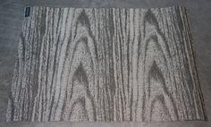 "Driftwood Woodgrain Pattern Woven Vinyl Rug 2'2"" x 3' by Chilewich NEW"