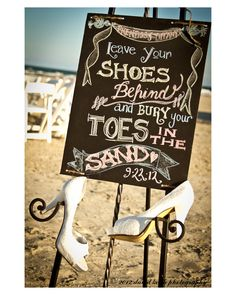 Port A, Texas, aisle, Port Aransas, Beach Wedding, Beach Wedding Package, decor, beach, waves, elegant, texas, portaweddings, david keith photography, ceremony set up, intimate wedding, moonfire, vintage, roses, bouquet, shoes, leave your shoes, toes in the sand, chalkboard sign