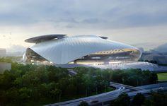 Silk Leaf Stadium | Tokyo, Japan | COOPHIMMELB (L)AU