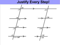 I've been playing around with how I present parallel lines and introducing my students to logical thinking, justifying their arguments, and the foundations of proof. As someone who enjoyed ge…