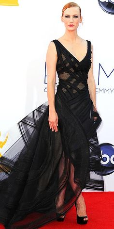 Emmys' Arrivals Gallery - Emmy Awards 2012 : People.com. Hmm... Do I actually like what JJones is wearing for once? Hmm...
