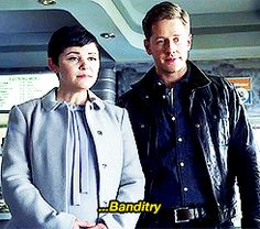 Once Upon a Time - Snow was in jail for banditry...lol