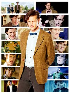 The Doctor. Oh, Eleven, I'll miss you so much! Thank you so, so much Matt Smith! I will always love you!