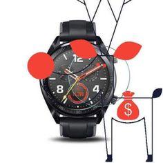 Folie sticla Huawei Watch GT, Tempered Glass, protectie ecran ceas Smartwatch Huawei Watch, Smartwatch, Chronograph, Watches, Glass, Accessories, Madness, Smart Watch, Wristwatches