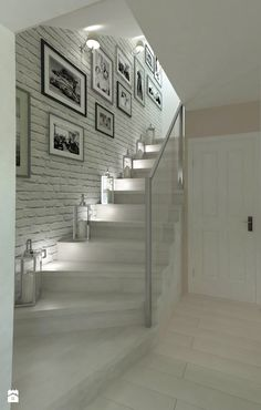 hallway decorating 140807925838251611 - Trendy basement stairs lighting ideas Ideas Source by apaudreyprice Basement Stairs, House Stairs, Basement Ideas, Hallway Ideas, Home Deco, Hallway Decorating, Interior Decorating, Flur Design, Stair Lighting