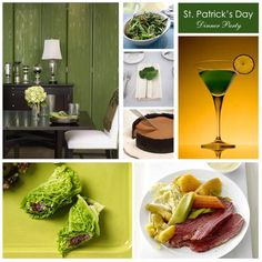 St. Patrick's Day Dinner Party
