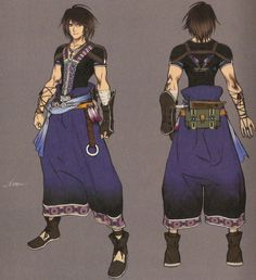 Final Fantasy XIII-2: Noel Kreiss; really like his costume design