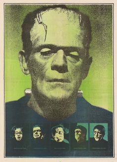 Frankenstein poster from the Monster Times-1973