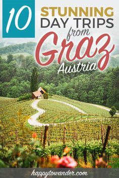 """""""This Austria travel guide includes amazing hidden gems near Graz! One of the best things to do in Graz is take day trips out to the areas nearby. Backpacking Europe, Europe Travel Guide, Travel Guides, Italy Travel, Croatia Travel, Budget Travel, Europe Destinations, Holiday Destinations, Tahiti"""