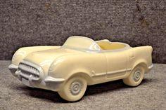 ~VINTAGE Rare Corvette Cookie Jar by Scobey / Paleno MADE 1988 / 1990 IN *U*S*A* Vintage Cookies, Cute Cookies, Cookie Jars, Corvette, Biscuit, Ebay, Corvettes, Crackers, Biscuits