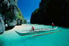 Boating in the Philipines