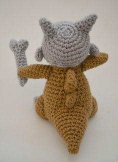 Cubone amigurumi pattern Pokemon crochet by amiamour on Etsy
