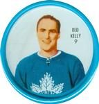 1962-63 Shirriff Coins #9 Red Kelly Front