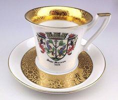 Vintage Porcelain M. Jungmann Konstanz Bavaria Cup and Saucer   Antiques, Decorative Arts, Ceramics & Porcelain   eBay!