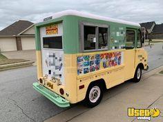 Vintage 1978 Chevrolet Step Van Classic Ice Cream Truck for Sale in Arkansas! Ice Car, Massage Room Decor, Ice Cream Business, Step Van, Vintage Ice Cream, Van For Sale, Trucks For Sale, Vans Classic, Arkansas