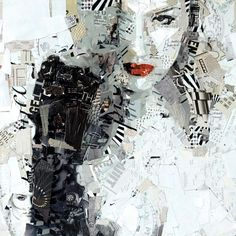 altered art - collage