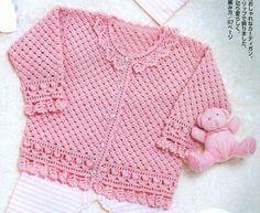 casaquinho rosa com golinha