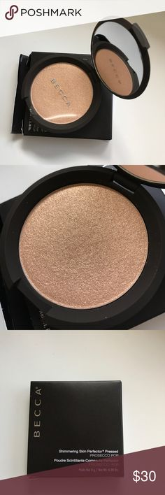 Becca highlighter in Prosecco Pop. Brand New Full-size Highlighter in Prosecco Pop by Becca cosmetics. Never been used. Makeup Luminizer