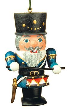 Tree ornaments Tree ornament Nutcracker drummer7cm  3inch  Hubrig Volkskunst * This is an Amazon Affiliate link. You can find more details by visiting the image link.