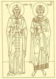 Image of St. Cyrus and John Feastday: June pray for us Patron of Vico Equense Death: June 28 Patron of Vico Equense Death: 304 Mark The Evangelist, Saint Barbara, Catholic Online, Roman Catholic, Pilgrimage, Christianity, Saints, Pray, June