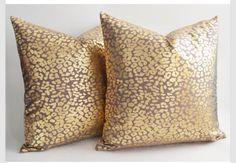 Cute leopard print pillows!!!