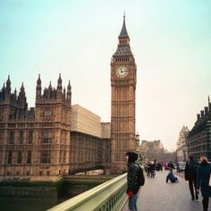 #1 place to visit is London, England! And of course I'm going to see Big Ben