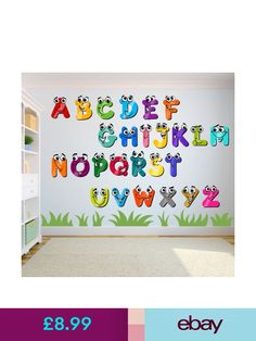 Christa Prints Decorative Decals Home, Furniture & DIY - Top Trends Preschool Classroom Decor, Classroom Wall Decor, Diy Classroom Decorations, Classroom Walls, School Decorations, School Wall Decoration, Daycare Design, Kindergarten Design, School Painting