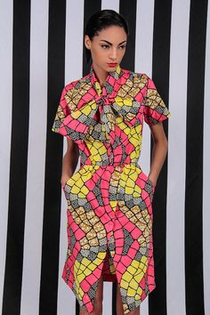 www.cewax.fr aime The Cynthia Dress by DemestiksNewYork on Etsy~Latest African Fashion, African Prints, African fashion styles, African clothing, Nigerian style, Ghanaian fashion, African women dresses, African Bags, African shoes, Kitenge, Gele, Nigerian fashion, Ankara, Aso okè, Kenté, brocade. ~DK