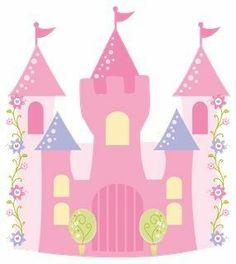 Princess castle printable Cardboard Box Crafts, Felt Crafts, Paper Crafts, Cardboard Castle, Princess Castle, Princess Party, Baby Girl Clipart, Architecture Tattoo, Funny Tattoos