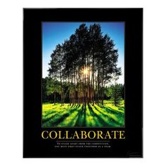 Collaborate Grove   To stand apart from the competition, you must first stand together as a team.