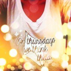 On Wednesdays We Wear Pink. On Thursdays We Think Theta. Big Little Week, Big Little Gifts, Kappa Alpha Theta, Delta Zeta, Theta Crafts, Sorority Gifts, Love Never Fails, Faith Hope Love, Greek Life