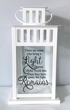 Sympathy Gift Memory Candle Sympathy Candle Remembrance | Etsy Lantern Quotes, Christmas In Heaven, Memory Crafts, Bereavement Gift, Remembrance Gifts, Sympathy Gifts, Memorial Gifts, Vinyl Projects, Homemade Gifts