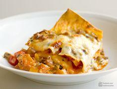 Gemüse-Lasagne | Madame Cuisine Rezept Veggie Recipes, Vegetarian Recipes, Healthy Recipes, Lasagna, Meal Prep, Easy Meals, Veggies, Favorite Recipes, Stuffed Peppers