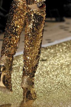 New Jaguar, Light Film, Fool Gold, Model Look, Purple Gold, Vivienne Westwood, Solid Gold, 3 D, Sequin Skirt