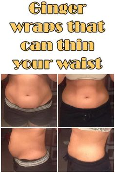 Ginger wraps that can thin your waist – Style Idea