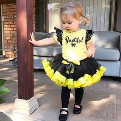Image of Black & Yellow Tutu
