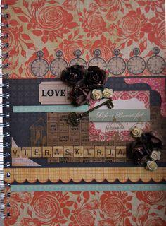 scrabble/scrapbook guestbook