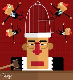 A gaiola da Justiça