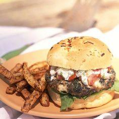 Greek Feta Burgers by Cooking Light