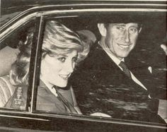 1984-09-16 Diana and Charles leave St Mary's Lindo Wing in Paddington with their newborn son Harry