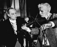 Buster Keaton and Charles Chaplin