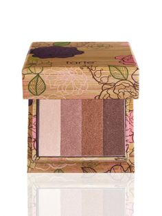 I love Tarte cosmetics, a high-performance natural line that supports the Amazon rainforest in a sustainable manner. Plus the packaging is gorgeous, which is half the fun!