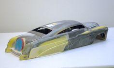 Great looking '49 Merc based custom project in progress