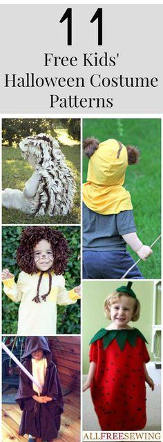 Homemade Halloween Costumes: 11 Kids Halloween Costume Ideas Free eBook