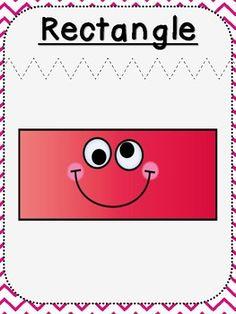 Shape Posters (***Kindergarten FREEBIE***) by Paw-some Resources Preschool Homework, Montessori Math, Teaching Shapes, Preschool Shapes, File Folder Activities, Shape Posters, Kindergarten Math Worksheets, Art Drawings For Kids, Class Decoration