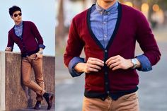 Khaki Fashionable Outfit Ideas for Men