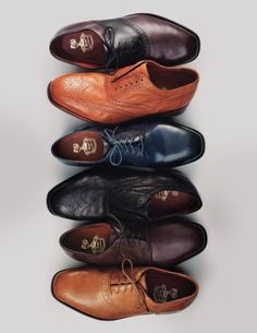 You can tell a lot by a man's choice in shoes. Make sure they're shined and clean!