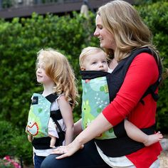 Carrying a baby is more beneficial to them, physically  and emotionally. #babywearing