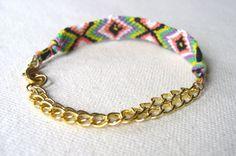 friendship bracelet with chain
